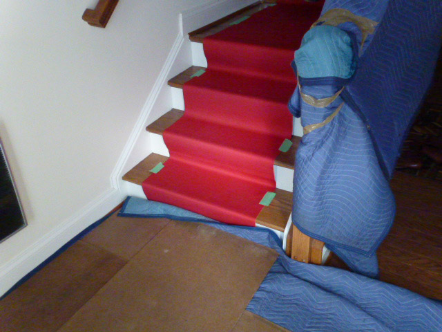 Floor and Staircase Protection